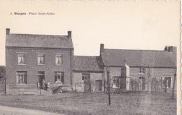 BLAUGIES Place Saint-Aubin Vielle ( Citroen 4 Cheveaux ? ) - Soignies