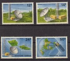SAMOA 1980 MNH**- Satellite Station - Samoa (Staat)