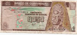 GUATEMALA 0,50 QUETZAL 1996 P-96 - Guatemala