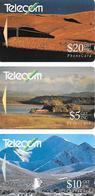 3-CARTES-MAGNETIQUE -NOUVELLE ZELANDE-Série PAYSAGES SAISONS-BE - Nouvelle-Zélande