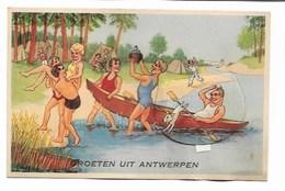 Groeten Uit Antwerpen (carte à Systèmes). - Antwerpen