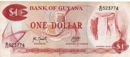 GUYANA 1 DOLLAR 1992 P-21g2 UNC - Guyana
