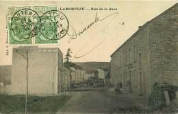 261018 - BELGIQUE Région Wallonne LAMORTEAU Rue De La Gare - Belgique