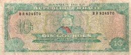 HAITI 10 GOURDES 1991 P-256 - Haiti
