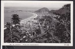 Brasilien Rio De Janeiro Praia De Copacabana - Rio De Janeiro