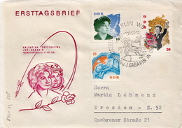 Postal History Cover: Germany / DDR Full Set On Cover - Europe