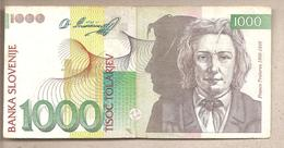 Slovenia - Banconota Circolata Da 1000 Talleri P-17a - 1992 - Slovénie