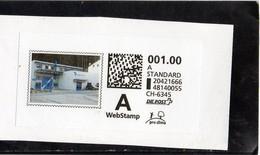 2018 Svizzera - Webstamp (frammento) - Svizzera