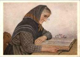Albert Anker - Grossmutter Liest Die Bibel - Non Classificati