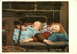 Albert Anker - Schlafende Kinder - Non Classificati