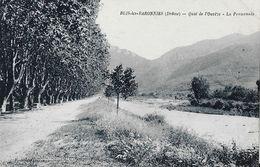 Buis-les-Baronnies (Drôme) - Quai De L'Ouvèze, La Promenade - Edition Fournat - Buis-les-Baronnies