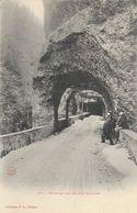 Tunnels Des Grands Goulets (Drôme) - Collection P.P. Valence - Carte Animée N° 57 Dos Simple, Non Circulée - Francia