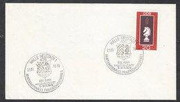 Chess, DDR Halle-Neustadt, 21.11.1978, Special Cancel On Envelope - Schaken