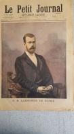 LE PETIT JOURNAL SUPPLEMENT ILLUSTRE  10/1896  EMPEREUR DE RUSSIE  ET IMPERATRICE DE RUSSIE - Journaux - Quotidiens