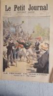 LE PETIT JOURNAL SUPPLEMENT ILLUSTRE  08/1896  LA COURSE DE MARATHON ET TERRIBLE CHUTE DANS L'ARLY - Journaux - Quotidiens