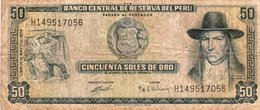 PERU 50 SOLES DE ORO 1974 P-101 - Perù