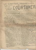 COURTOMER LA CROIX DU PELERIN AVRIL 1908 BURES ST AGNAN STE SCOLASSE LE MESNIL GUYON LE PLANTIS CHAUSCHIS STE GAUBURGE - France