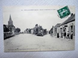 PEZE LE ROBERT ROUTES DE BEAUMONT ET CRISSE N°736 - France