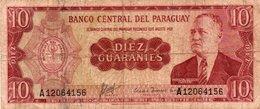 PARAGUAY 10 GUARANIES 1963 P-196 - Paraguay