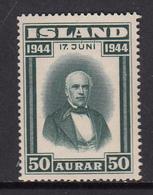 Iceland MNH Michel Nr 233 From 1944 / Catw 1.00 EUR - Ungebraucht