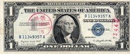 STATI UNITI 1 DOLLAR 1957 P-419 - Certificati D'Argento (1928-1957)