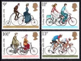 GREAT BRITAIN 1978 CTC & British Cycling Federation: Set Of 4 Stamps UM/MNH - Ungebraucht