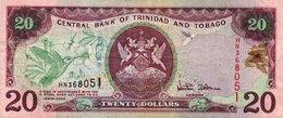 TRINIDAD&TOBAGO 20 DOLLARS 2002 P-44  (Picolo Strapo Sinistra Giu) - Trindad & Tobago
