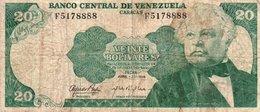 VENEZUELA 20 BOLIVARES 1974  P-53 - Venezuela