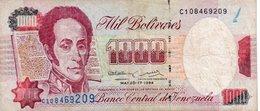 VENEZUELA 1000 BOLIVARES 1994   P-76 - Venezuela