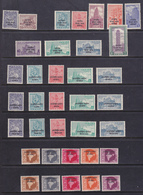 INDIA Franchigia Militare   1953-63     7 Serie Cpl + Valori MNH**MLH* - Franchigia Militare