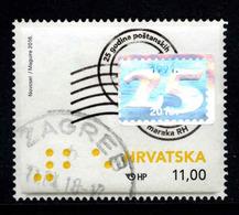 Kroatie, Yv 1147 Jaar 2016, Gestempeld, Zie Scan - Kroatien
