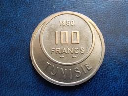 TUNISIE   100  Francs   1950 - Tunesien