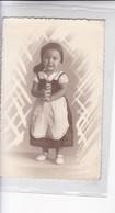 NIÑA GIRL FILLE MENINA DISFRAZ COSTUME FOLK FOLKLORE VINTAGE CIRCA 1900s- BLEUP - Fotografie
