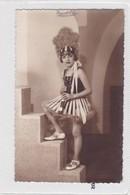 NIÑA GIRL FILLE MENINA DISFRAZ COSTUME BAILARINA DANSEUR DANCER VOYAGE CIRCA 1930's- BLEUP - Fotografie