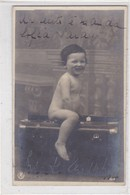 BEBE BABY PORTAFOLIO MALETIN BRIEFCASE CIRCULEE ARGENTINE TO PARIS CIRCA 1904- BLEUP - Fotografie