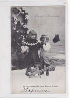 BONNE ANNEE NEW YEAR AÑO NUEVO NIÑOS ENFANTS KIDS CRIANÇAS CIRCULEE FRANCE CIRCA 1904- BLEUP - Nieuwjaar