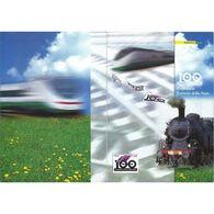 2005 Italia Folder Centenario Ferrovie Dello Stato - 6. 1946-.. Repubblica