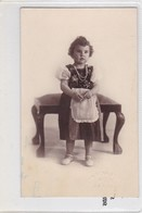 NIÑA FILLE GIRL MENINA DELANTAL APRON VOYAGE CIRCA 1932- BLEUP - Fotografie