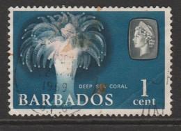 Barbados 1965 Marine Life 1 C Multicoloured SW 236 O Used - Barbados (1966-...)