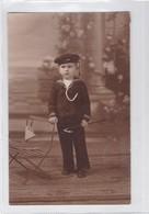 NIÑO GARÇON BOY CRIANÇA DISFRAZ COSTUME MARINERO SEAMAN-CIRCA 1910s- BLEUP - Fotografie