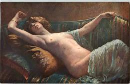 Salon De Paris - Asolphe Barnoin - Erotik - Nackt - Tableaux