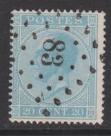 N° 18   LP. 83 - CINEY - 1865-1866 Profil Gauche