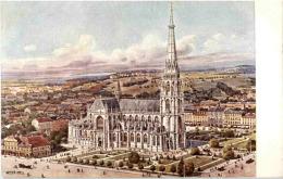 Linz - Der Neue Dom - Künstlerkarte Weeser Krell - Linz