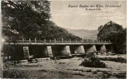 Baden Bei Wien - Rechenbrücke - Baden Bei Wien