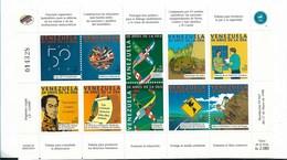VENEZUELA 1998 OEA - OAS 50TH ANNIVERSARY SCOTT 1591 MS - Venezuela