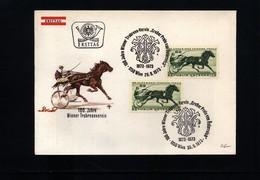 Austria / Oesterreich 1973 Horse Races FDC - Reitsport