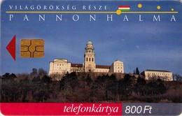 TARJETA TELEFONICA DE HUNGRIA. Világörökség: Pannonhalma. HU-P-1999-23. (169) - Hungría