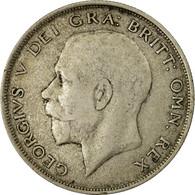 Monnaie, Grande-Bretagne, George V, 1/2 Crown, 1921, TTB, Argent, KM:818.1a - 1902-1971 : Monnaies Post-Victoriennes