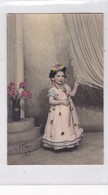 NIÑA GIRL FILLE COSTUME DISFRAZ DAMA ANTIGUA DAME ANTIQUE COLORISE CIRCA 1920s- BLEUP - Fotografie
