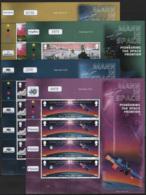 Man 2003 Unif. 1072/79 Minisheet Of 4 **/MNH VF - Isola Di Man